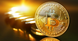 Goldener Bitcoin