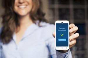 Kontaktloses Bezahlen mit dem Handy