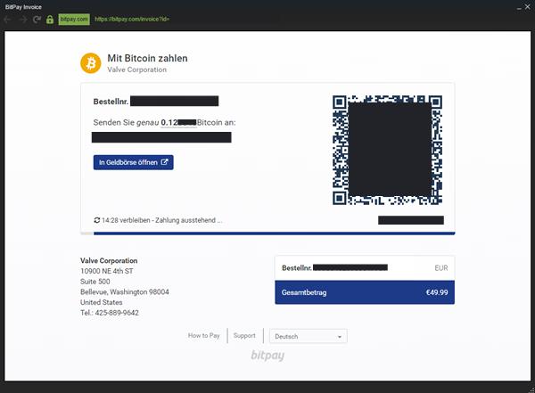Bitcoin Steam Howto Erfahrungen Anleitung BTC