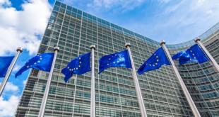 Europäische Flagge in Brüssel