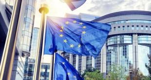 EU Flagge Brüssel