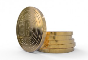 3D Illustration Bitcoin Münze