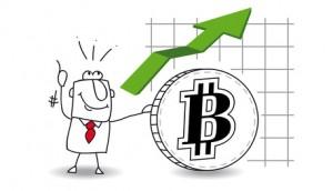 Bitcoinkurs steigt