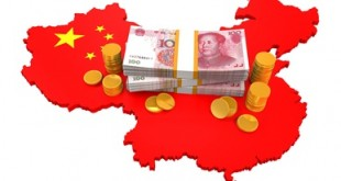 Chinese Yuan and Map