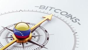 Venezuela Bitcoin Concept