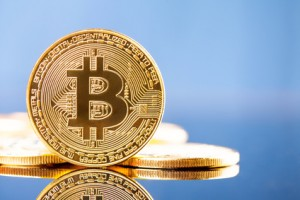 Photo Golden Bitcoins