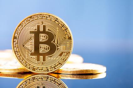 Photo Golden Bitcoins