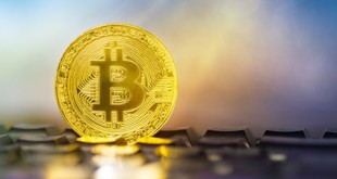 Photo Golden Bitcoins;