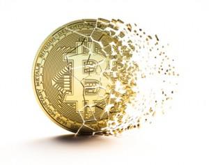 Bitcoin disintegrating