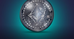Ethereum metal coin
