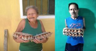 Glückliche PolloPollo Spendenempfänger